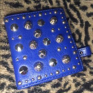 Juicy couture mini wallet blue studs